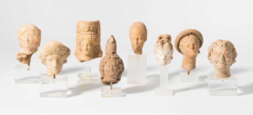 8 Terracotta Head - photo 1