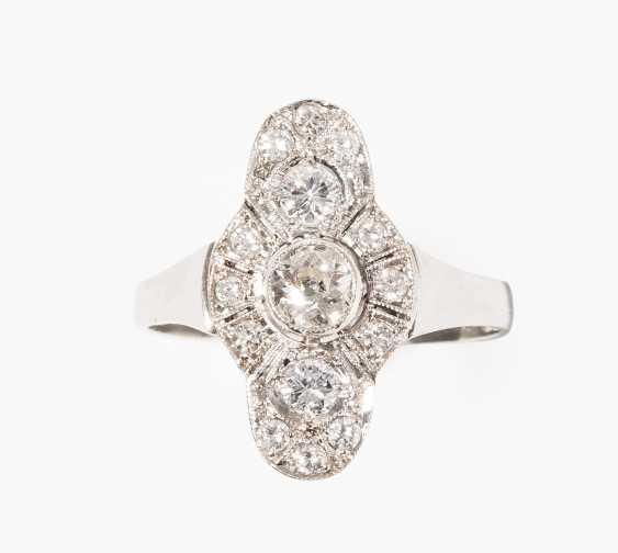 Art Deco Diamond Ring - photo 1