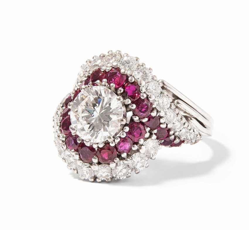Brillant-Rubin-Ring - photo 1