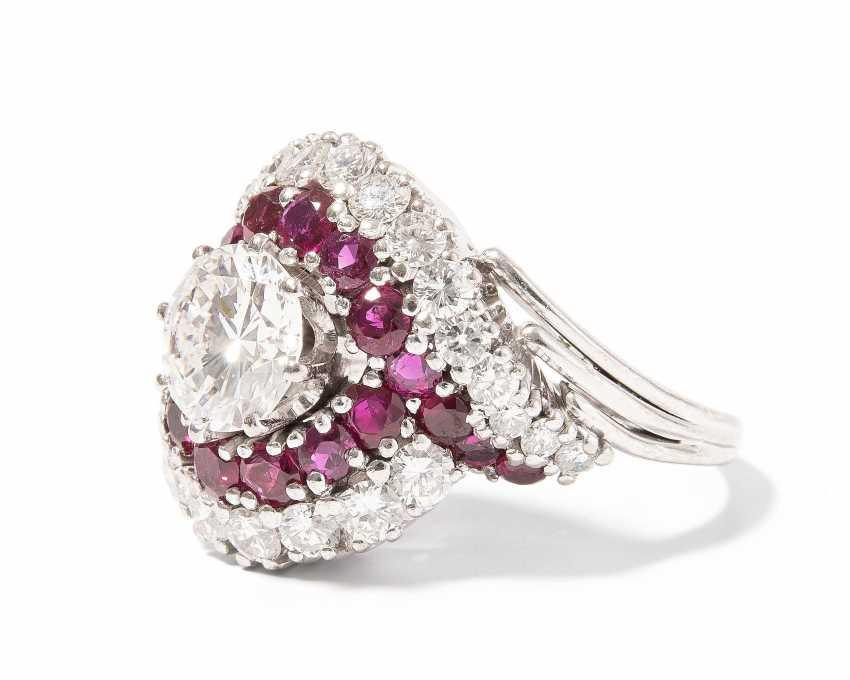 Brillant-Rubin-Ring - photo 2