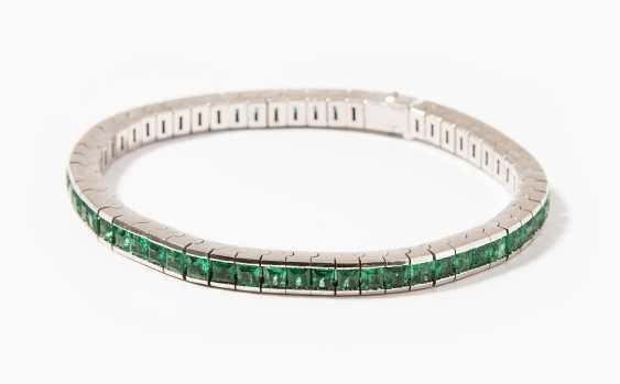 Smaragd-Bracelet - photo 1