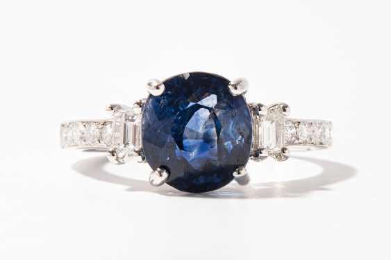 Saphir-Brillant-Ring - photo 1