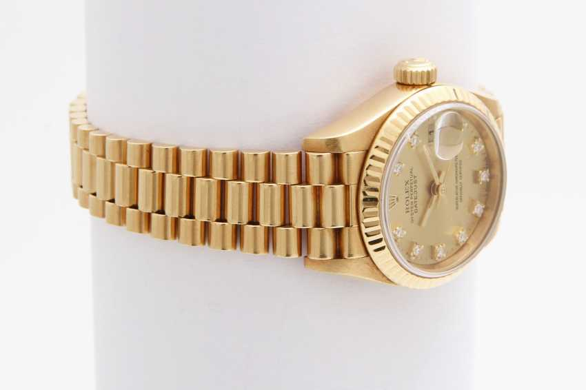 "ROLEX Damenuhr ""Oyster Perpetual Datejust"" - photo 2"
