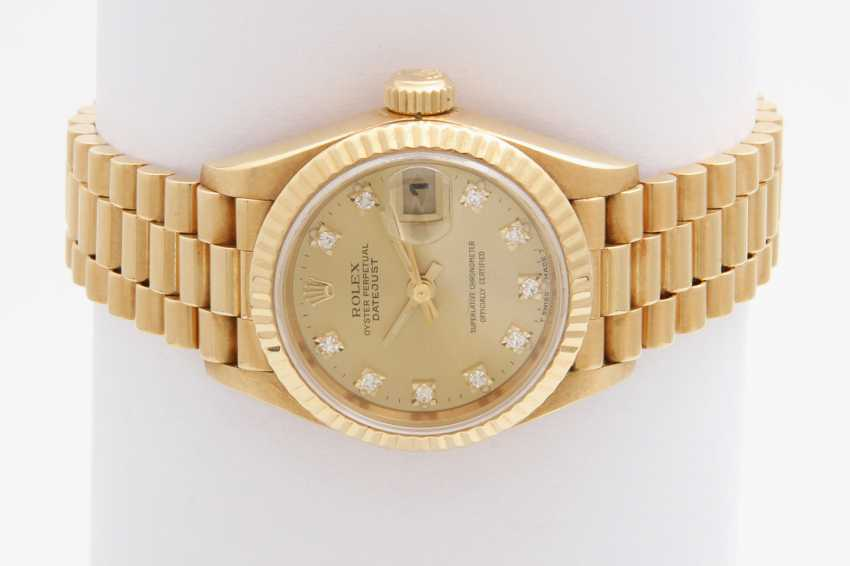 "ROLEX Damenuhr ""Oyster Perpetual Datejust"" - photo 1"