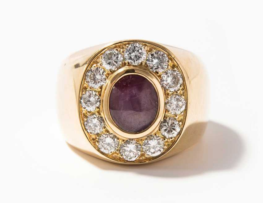 Sternrubin-Brillant-Ring - photo 1