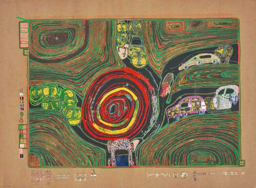 Hundertwasser, Friedensreich - photo 1