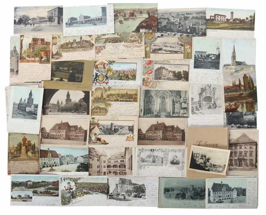 Post card collection Heilbronn, Germany, around 1900 - photo 1