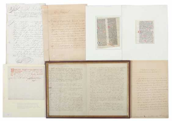 Collection Of Documents 16. to 19. Century - photo 1