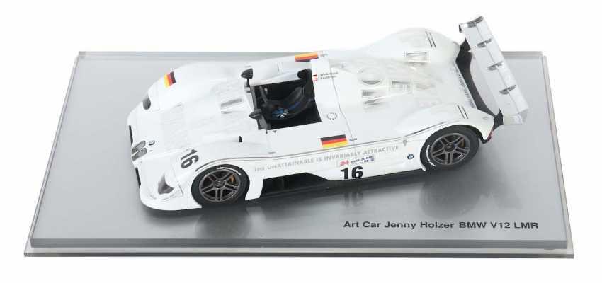 Art Car ''Jenny Holzer'' BMW/Minichamps - photo 1