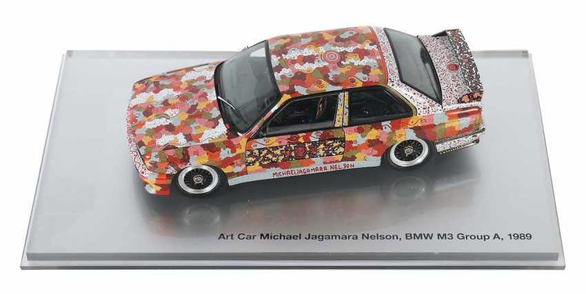 Art Car ''Michael Jagamara Nelson'' BMW/Minichamps - photo 1
