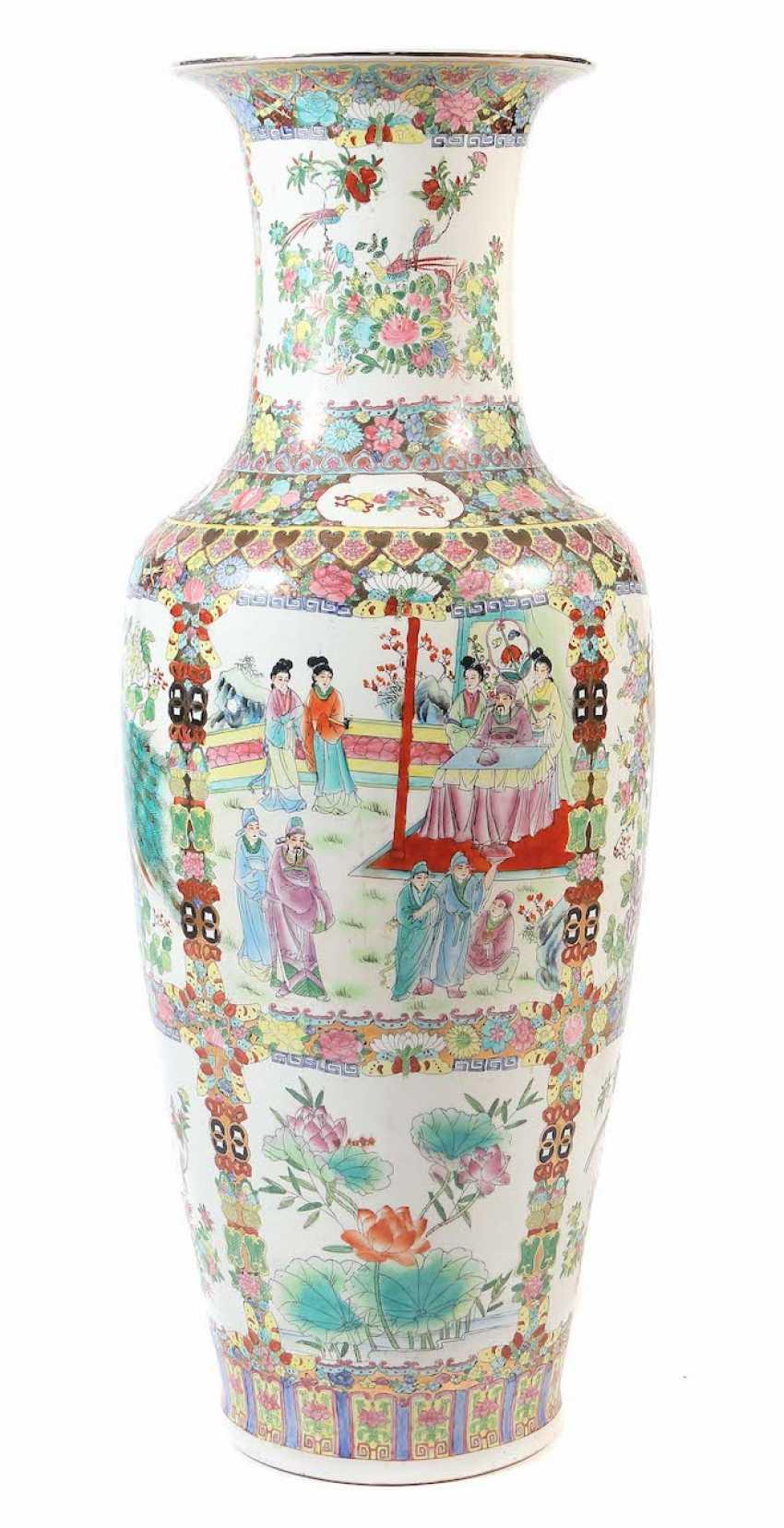 Large Palace Vase, China - photo 1