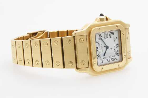 "CARTIER watch ""Santos"", - photo 2"