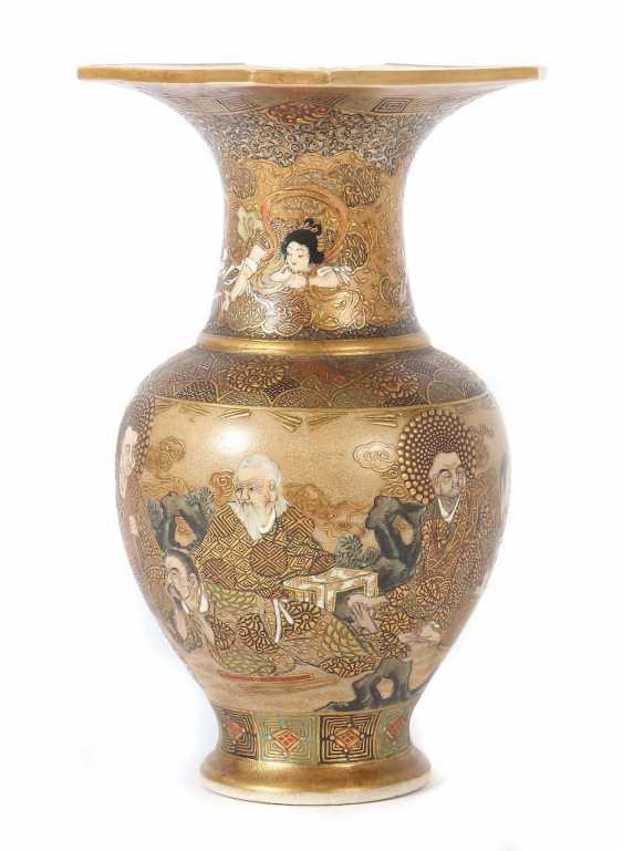 Satsuma-Vase Japan - photo 1