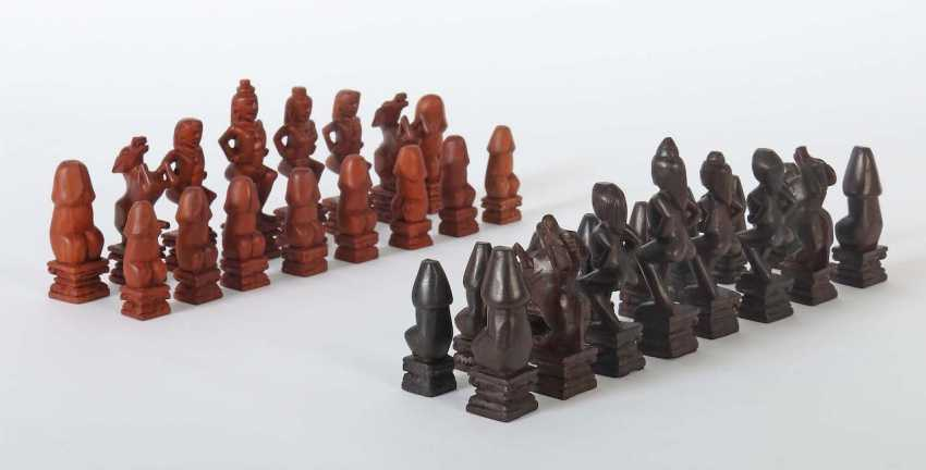Erotic Chess Pieces Thailand/Indonesia - photo 1