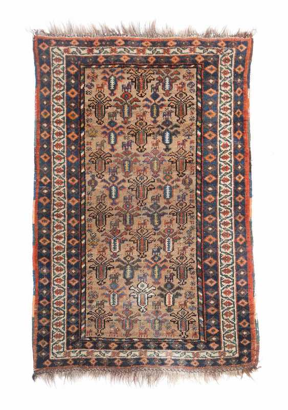 Carpet with palmettes and animal motifs of the North-West Persia - photo 1