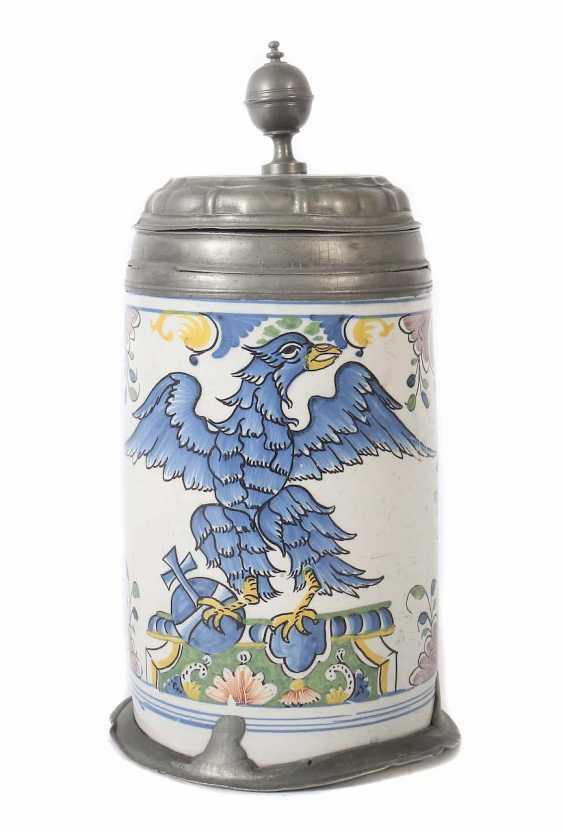Roller jug with eagle's representation of Thuringia - photo 1