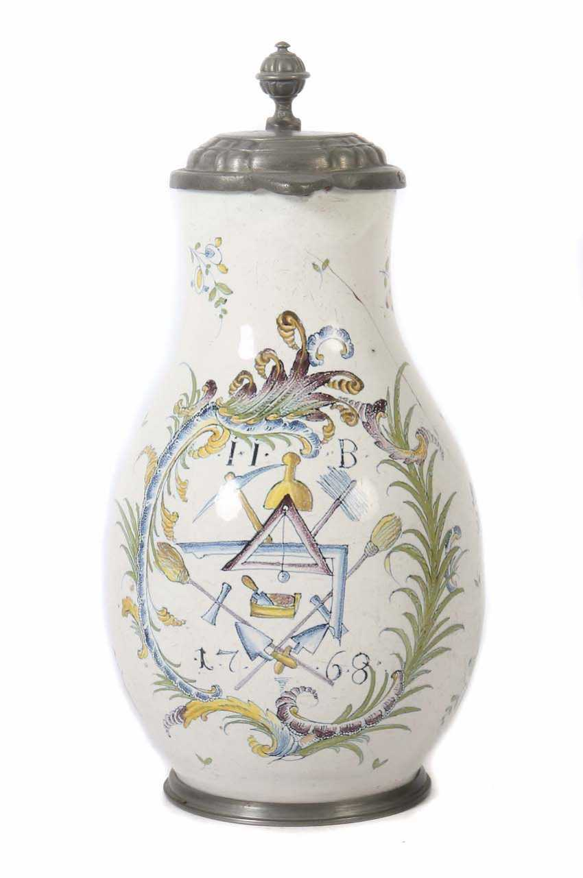 Guild pitcher of the masons of southern Germany - photo 1