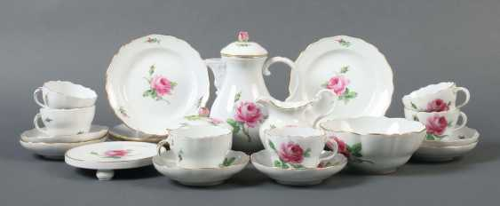 """Coffee service """"moss rose"""" for 6 persons Meissen - photo 1"""