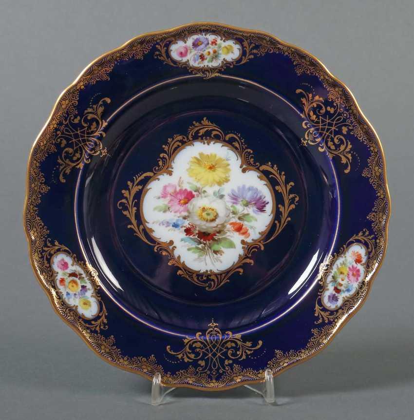 "Plate ""Amsterdam Type"" Of Meissen - photo 1"