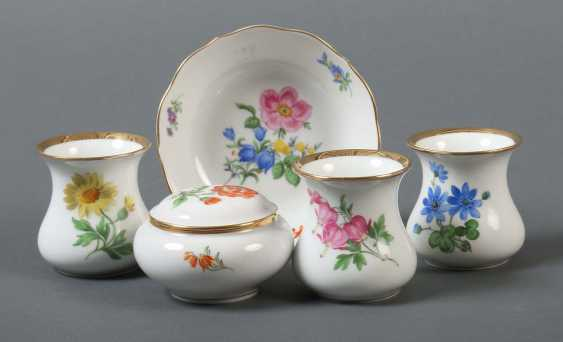"Vintage ""German Flower"" Meissen - photo 1"
