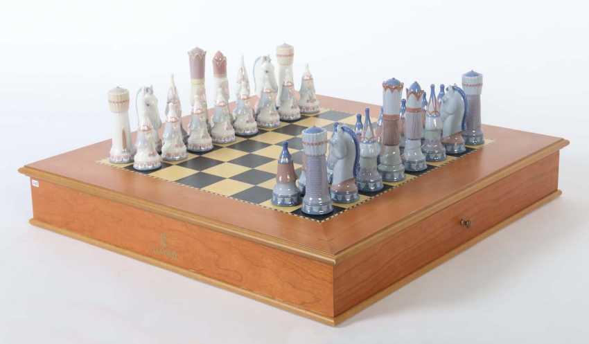 Chess Game Lladro - photo 1
