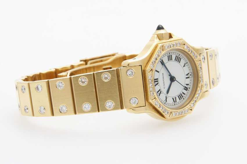 "CARTIER ladies watch ""Santos"" - photo 2"