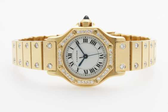 "CARTIER ladies watch ""Santos"" - photo 1"