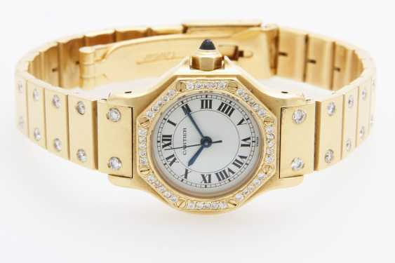 "CARTIER ladies watch ""Santos"" - photo 3"