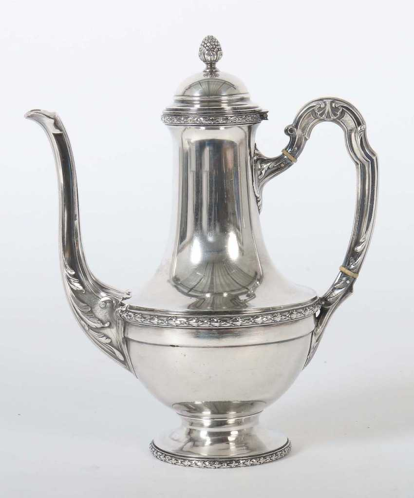 Coffee pot, probably Francois-Auguste Boyer-Callot - photo 1