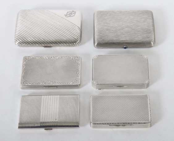 4 cigarette cases & 2 cases mostly Germany - photo 1