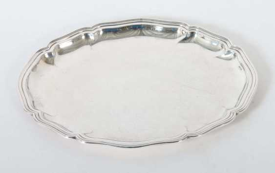 Oval tray in the Baroque style, Wilkens & Söhne - photo 1