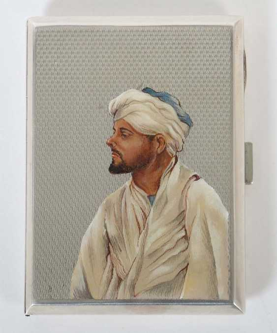 Cigarette case with Portrait of one Arab William Neale & Sons Ltd. - photo 1