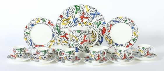 Kaffeeservice ''Spirit of Art'' E: Keith Haring (1958-1990) - photo 1