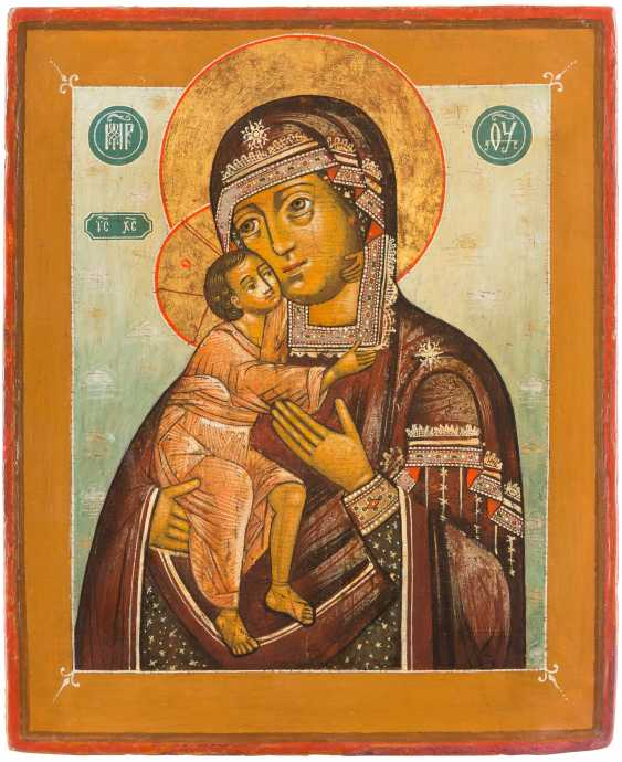ICON OF THE MOTHER OF GOD OF FEODOR (FEODOROWSKAJA) - photo 1