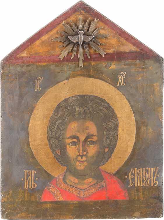 ICON OF CHRIST EMMANUEL - photo 1