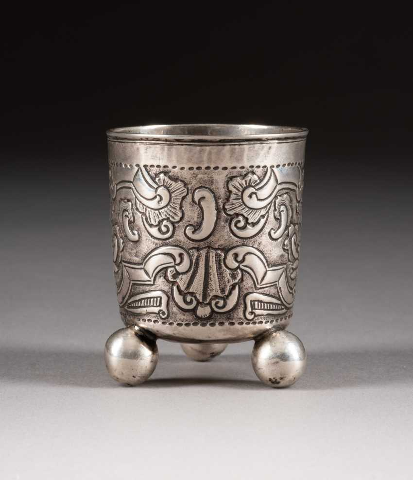 BAROQUE BALL-FOOT CUP - photo 1