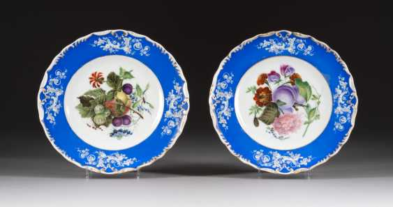 SOME PLATES WITH FRUIT PAINTING - photo 1