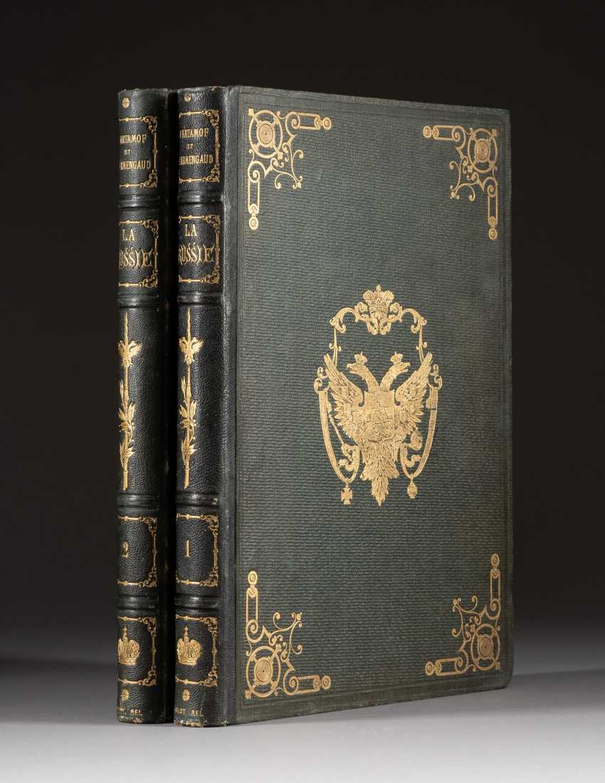 TWO VOLUMES: PIOTRE ARTAMOF. LA RUSSIE HISTORIQUE, MONUMENTALE ET PITTORESQUE, Paris, France, 1862-1865 - photo 1