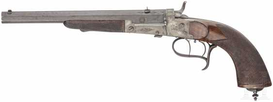 Single Shot Rifle Disc Gun Francotte Of Liège, At The End Of 19th Century. Century - photo 1