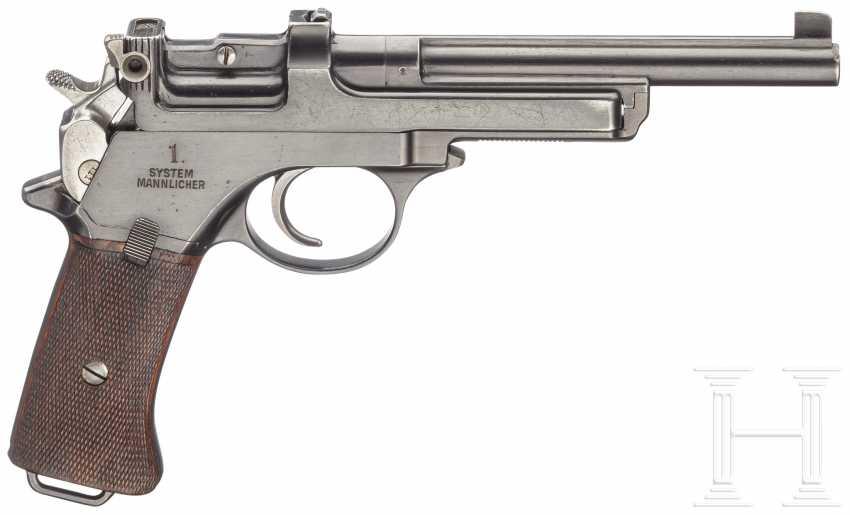 Mannlicher model 1901, Prussian test weapon - photo 3