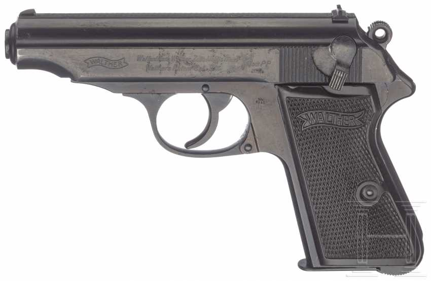 Walther PP ZM, caliber 9 mm, with bag - photo 1