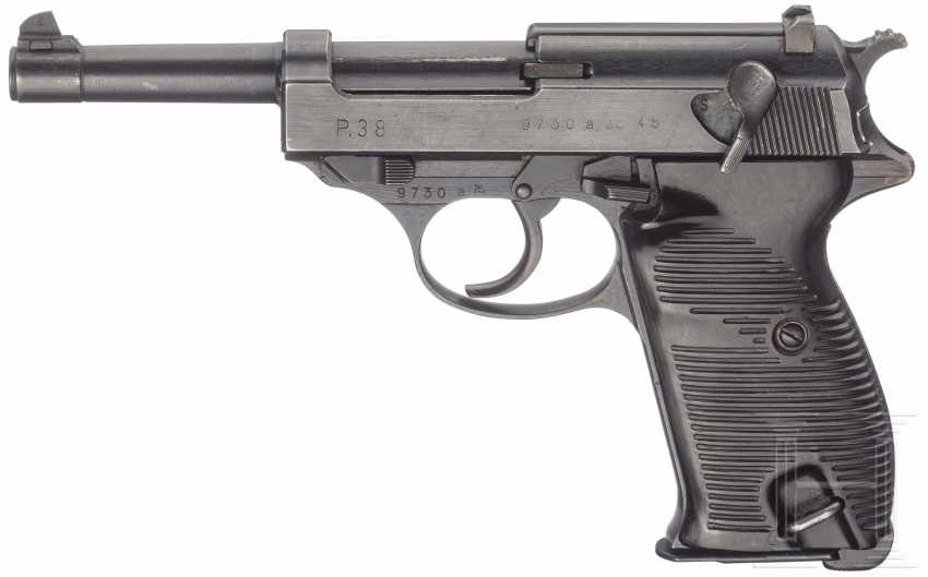"""Walther P 38, Code """"ac - 45"""" - photo 1"""