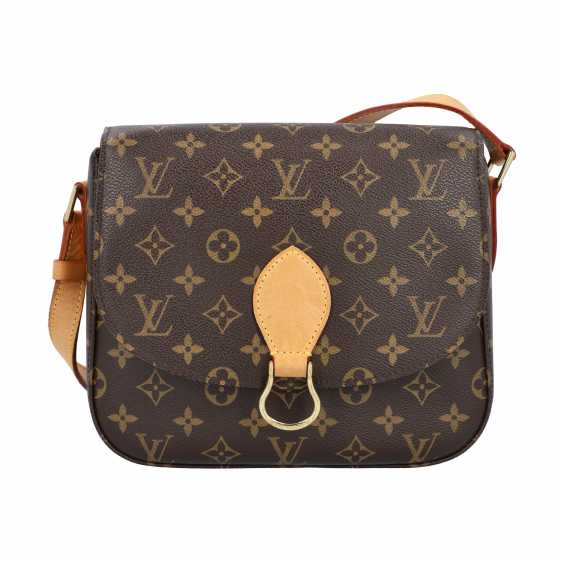 "LOUIS VUITTON shoulder bag ""SAINT-CLOUD"", collection: 2000. - photo 1"