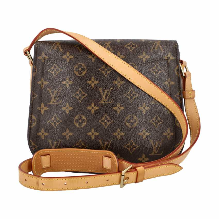 "LOUIS VUITTON shoulder bag ""SAINT-CLOUD"", collection: 2000. - photo 4"