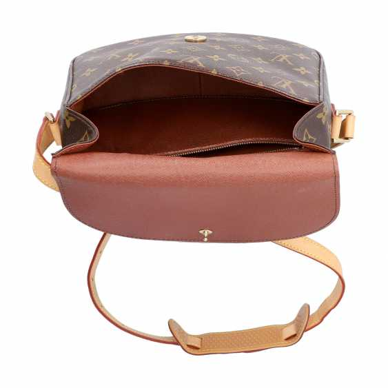 "LOUIS VUITTON shoulder bag ""SAINT-CLOUD"", collection: 2000. - photo 6"