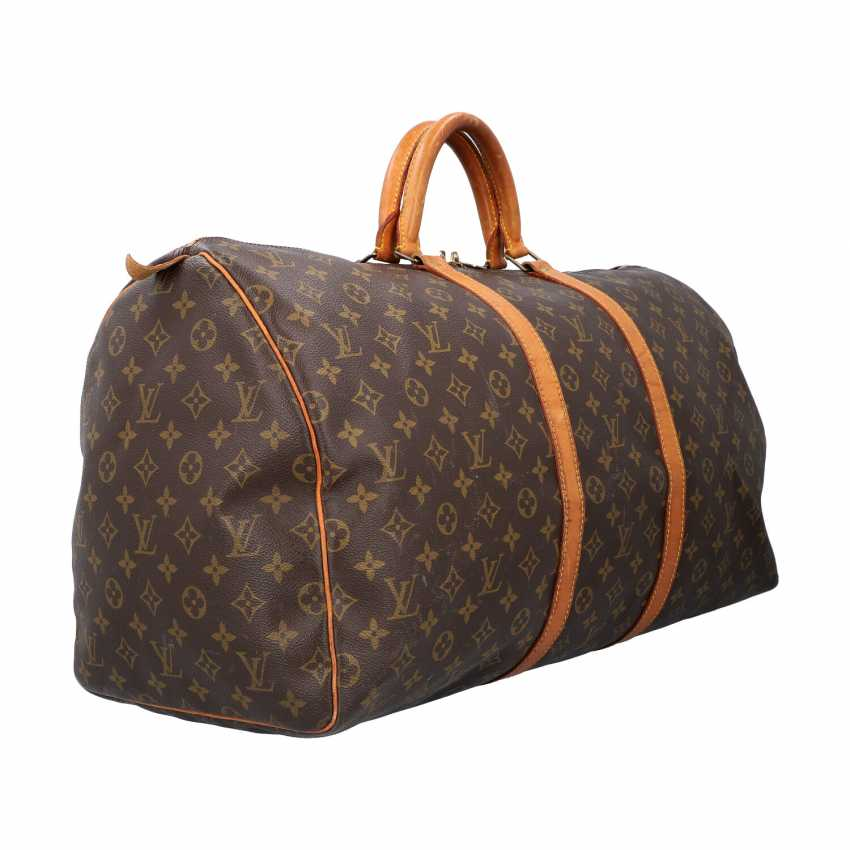"""LOUIS VUITTON weekend bag """"KEEPALL 55"""", collection: 1990, current price: 1.140,-€. - photo 2"""