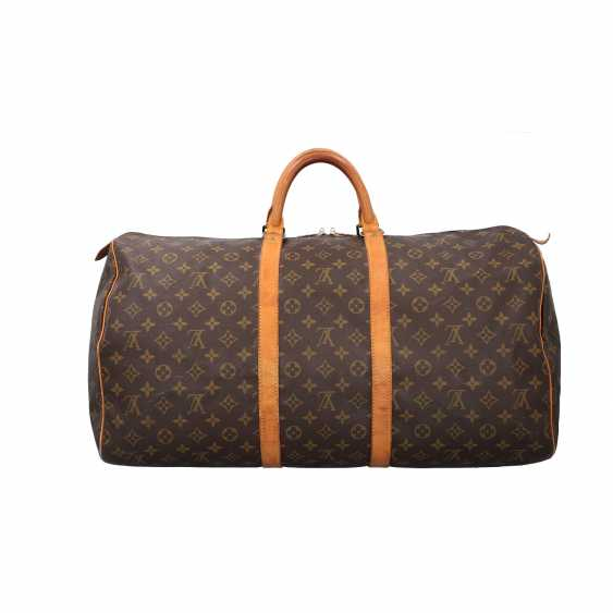 """LOUIS VUITTON weekend bag """"KEEPALL 55"""", collection: 1990, current price: 1.140,-€. - photo 4"""