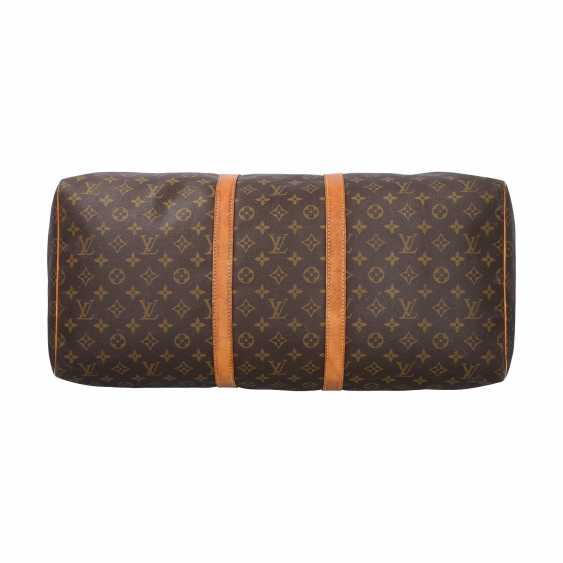 """LOUIS VUITTON weekend bag """"KEEPALL 55"""", collection: 1990, current price: 1.140,-€. - photo 5"""