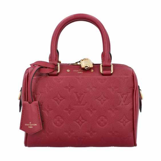 """LOUIS VUITTON handbag """"SPEEDY 20 BAND."""", Collection in 2016. - photo 1"""