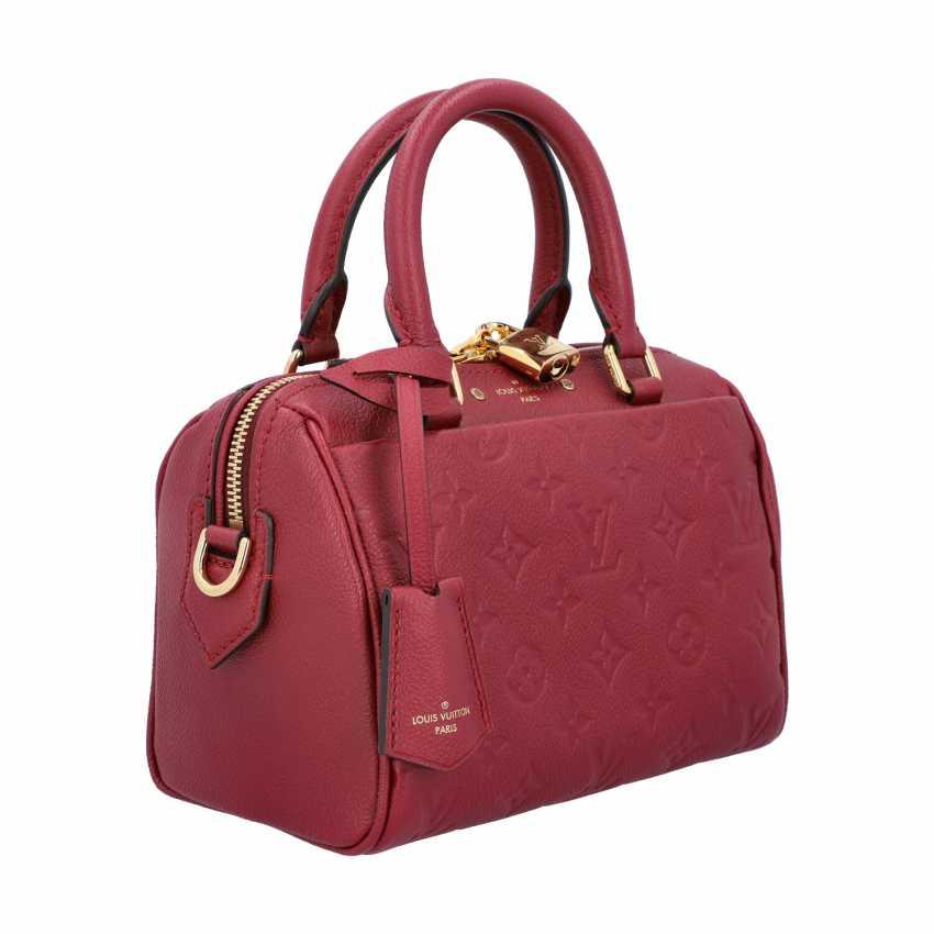 """LOUIS VUITTON handbag """"SPEEDY 20 BAND."""", Collection in 2016. - photo 2"""